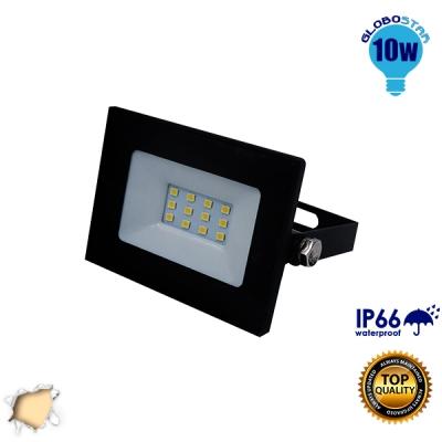 Προβολέας LED Slim Pad 10 Watt 230v Θερμό GloboStar 11113