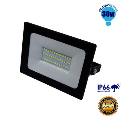 Προβολέας LED Slim Pad 30 Watt 230v Ψυχρό GloboStar 11114
