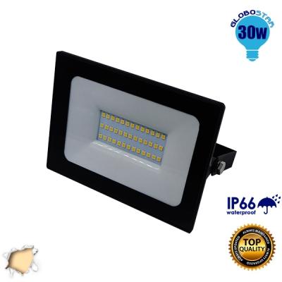 Προβολέας LED Slim Pad 30 Watt 230v Θερμό GloboStar 11116