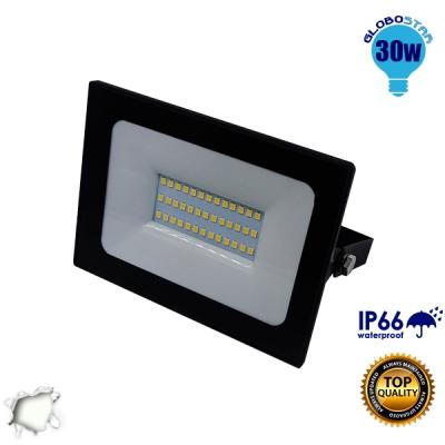 Προβολέας LED Slim Pad 30 Watt 230v Ημέρας GloboStar 11115
