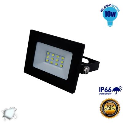 Προβολέας LED Slim Pad 10 Watt 230v Ψυχρό GloboStar 11111