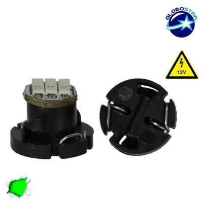 Λαμπτήρας LED T4.2 3 SMD 4014 12 Volt Πράσινο GloboStar 14502